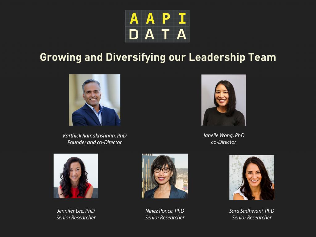 AAPI Leadership Team 2021