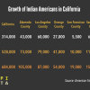 Infographic: Growth of Indian Americans in California